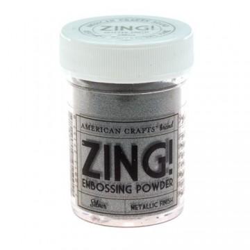 Купить Пудру для эмбоссинга Metallic Silver Zing! embossing powder, 27157