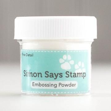 Купить Пудру для эмбоссинга Clear Fine Detail, Simon Says Stamp, ClearEP1