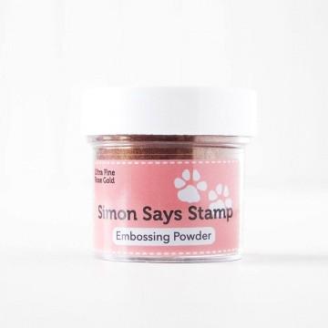 Купить Пудру для эмбоссинга Rose Gold, Simon Says Stamp, RoseGoldEP5