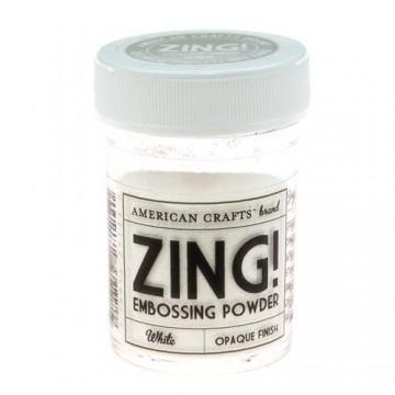 Купить пудру для эмбоссинга White Zing! embossing powder, 27124