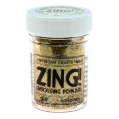Пудра для эмбоссинга Gold Glitter Zing! embossing powder, 27150