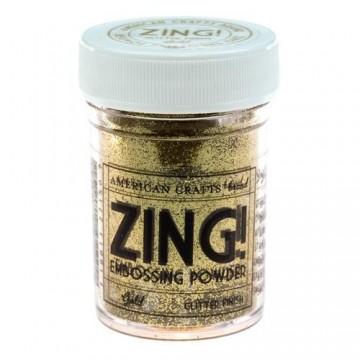 Купить пудру для эмбоссинга Gold Glitter Zing! embossing powder, 27150