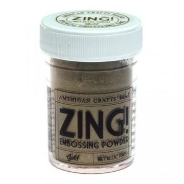 Купить пудру для эмбоссинга Metallic Gold Zing! embossing powder, 27158