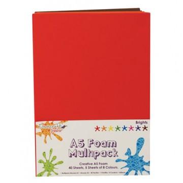 Купить Вспененная резина декоративная Brights, A5, Dovecraft, DCFM009