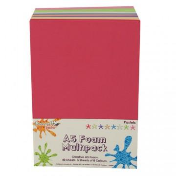 Купить Вспененная резина декоративная Pastels, A5, Dovecraft, DCFM011