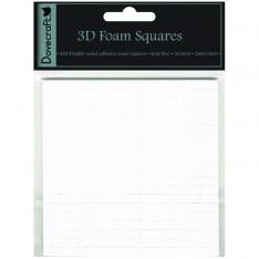 Двухсторонние объемные клейкие квадратики Small 3D, Dovecraft, DCBS01