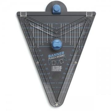 Купить Доска для изготовления флажков Banner Punch Board, We R Memory Keepers, 662565