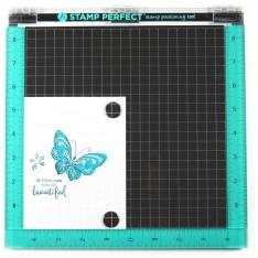 """Инструмент для штампинга Stamp Perfect большой (10х10 """"), Hampton Art, AC0746"""