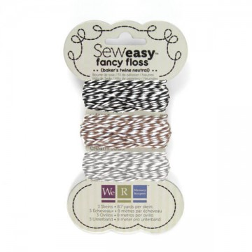Купить шнурок SewEasy Fancy Floss Bakers Twine – Neutrals, 71161-2
