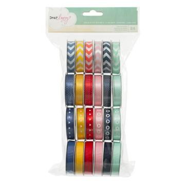 Купить набор лент Dear Lizzy Lucky Charm, American Crafts, 58870