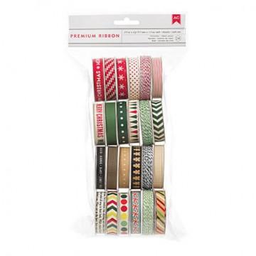 Купить набор лент Kringle and Co, American Crafts, 89430