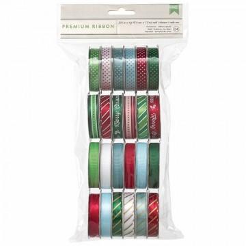 Купить набор лент Peppermint Express, American Crafts, 366117