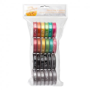 Купить набор лент Amy Tangerine – Plus One, American Crafts, 24 рулони, 366862