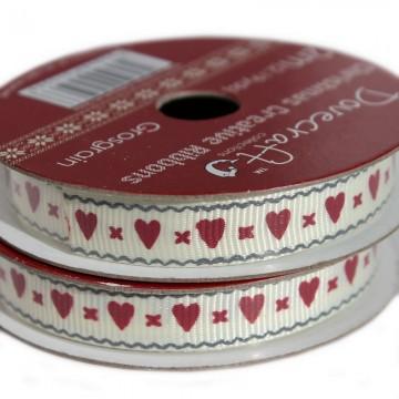 Купить Рулон ленты Hearts, Dovecraft, DCXCR004-05