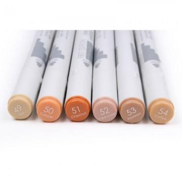 Купить Алкогольные маркеры Twin Markers – Browns, First Edition, FETMK009