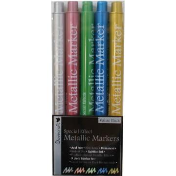 Купить Набор маркеров Dovecraft Metallic Marker Pens, DCMK04