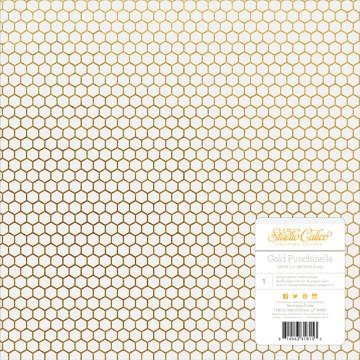 Купить Лист кальки Lemonlush – Gold Punchinella, Studio Calico, 30х30 см, 331815