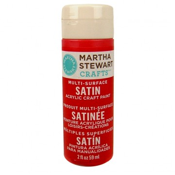 Купить Краска Multi-Surface Satin Acrylic Craft Paint – Habanero, 32050