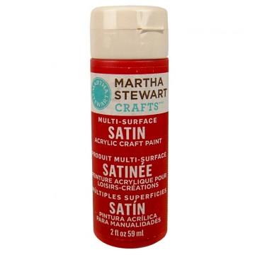 Купить Краска Multi-Surface Satin Acrylic Craft Paint – Tartan Red, 32049