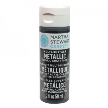 Купить Краска Multi-Surface Metallic Acrylic Craft Paint – Gunmetal, 32990