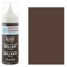 Краска Gloss Opaque Glass Paint – Vanilla Bean, Martha Stewart Crafts™, 33117