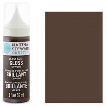 Купить краску Gloss Opaque Glass Paint – Vanilla Bean, Martha Stewart Crafts™, 33117