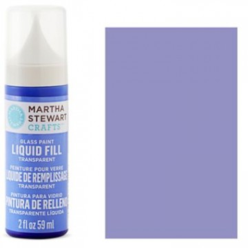 Купить краску Liquid Fill Transparent Glass Paint – Freesia, Martha Stewart Crafts™, 33219