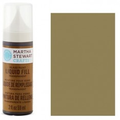 Краска Liquid Fill Transparent Glass Paint – English Tea, Martha Stewart Crafts™, 33215