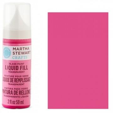 Купить краску Liquid Fill Transparent Glass Paint – Lipstick Pink, Martha Stewart Crafts™, 33210