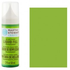 Краска Liquid Fill Transparent Glass Paint – Key Lime, Martha Stewart Crafts™, 33203