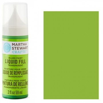 Купить краску Liquid Fill Transparent Glass Paint – Key Lime, Martha Stewart Crafts™, 33203
