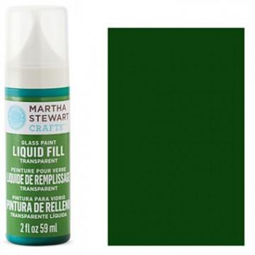 Купить краску Liquid Fill Transparent Glass Paint – Sweetgrass, Martha Stewart Crafts™, 33201