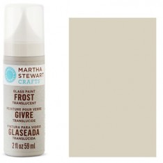Краска Frost Translucent Glass Paint – Wet Cement, Martha Stewart Crafts™, 33198