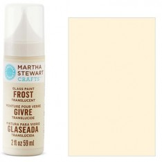Краска Frost Translucent Glass Paint – Summer Linen, Martha Stewart Crafts™, 33197