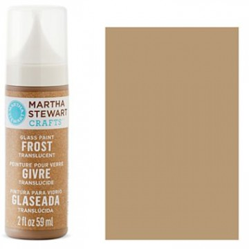Купить краску Frost Translucent Glass Paint – Root Beer Float, Martha Stewart Crafts™, 33196