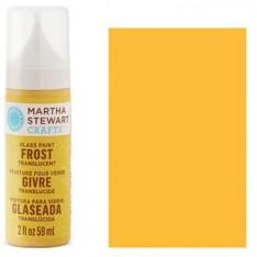 Краска Frost Translucent Glass Paint – Yellow Jacket, Martha Stewart Crafts™, 33195