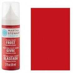Краска Frost Translucent Glass Paint – Habanero, Martha Stewart Crafts™, 33193