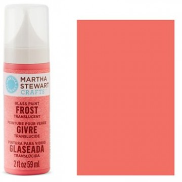 Купить краску Frost Translucent Glass Paint – Pink Flamingo, Martha Stewart Crafts™, 33192