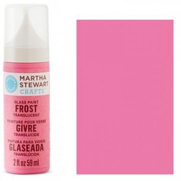 Купить краску Frost Translucent Glass Paint – Bubble Gum, Martha Stewart Crafts™, 33191