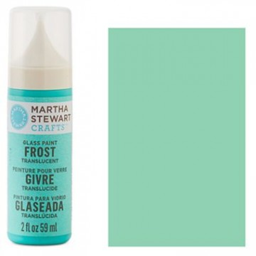 Купить краску Frost Translucent Glass Paint – Beach Glass, Martha Stewart Crafts™, 33183