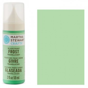 Купить краску Frost Translucent Glass Paint – Pea Shoot, Martha Stewart Crafts™, 33182