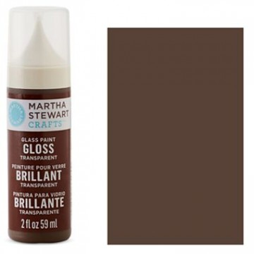 Купить краску Gloss Transparent Glass Paint – Gingersnap, Martha Stewart Crafts™, 33180