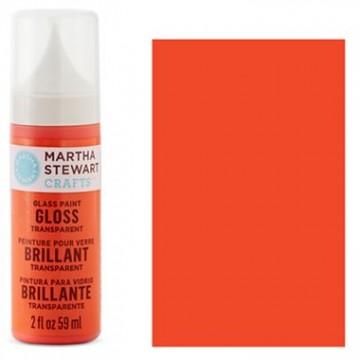 Купить краску Gloss Transparent Glass Paint – Red Coral, Martha Stewart Crafts™, 33172