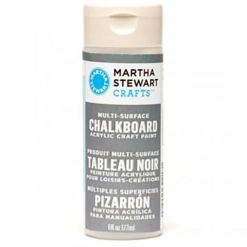 Купить краску Multi-Surface Chalkboard Acrylic Craft Paint – Gray, Martha Stewart Crafts, 32218