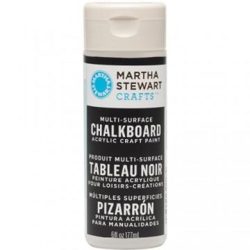 Купить краску Multi-Surface Chalkboard Acrylic Craft Paint – Black, Martha Stewart Crafts, 32217
