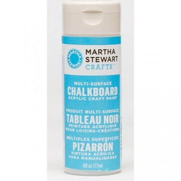Купить краску Multi-Surface Chalkboard Paint Acrylic Craft Paint – Blue, Martha Stewart Crafts™, 32216