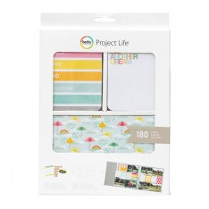 Набор карточек Peace, Love & Sunshine, Project Life, American Crafts, 380339