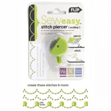 Купить Насадка для инструмента SewEasy – Stitch Piercer Scallop Head, 71056-1