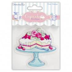 Штамп акриловый Cake Cupcake Boutique, Dovecraft, DCCS005