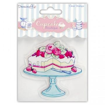 Купить Штамп акриловый Cake Cupcake Boutique, Dovecraft, DCCS005
